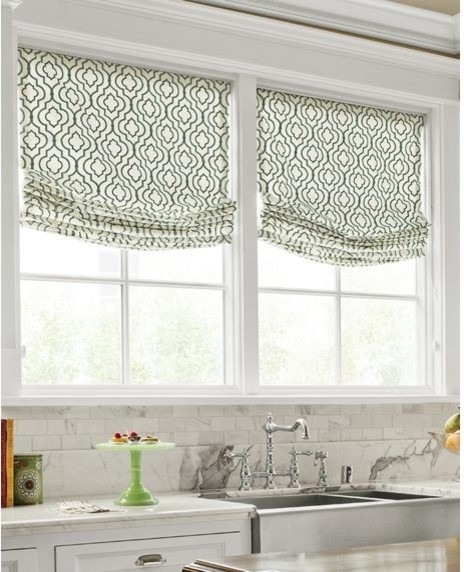 Kitchen Fabric Blinds: Fabric Shades