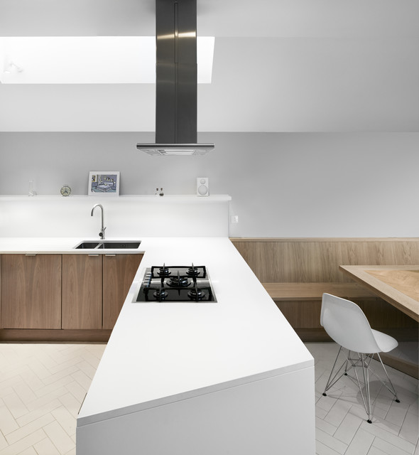 Facet House Contemporary Kitchen London By
