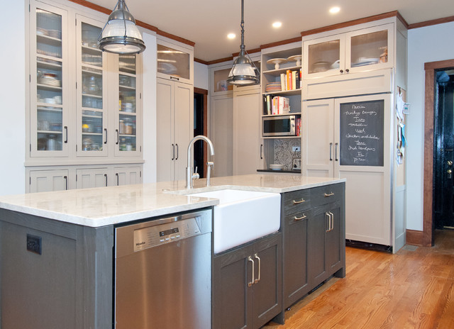 Fair Oaks Traditional Kitchen Chicago By Kitchenlab Design Rebekah Zaveloff Interiors
