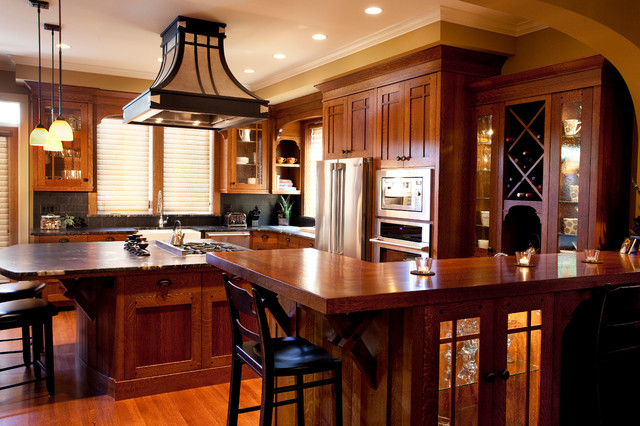 Fairfield Arts And Craft Traditional Kitchen Vancouver By Sheri P Interior Design