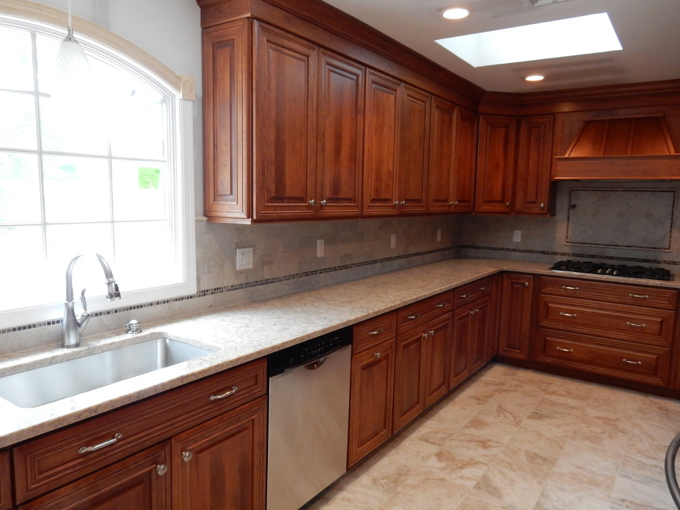 Fairfield, NJ Kitchen #1 - Traditional - Kitchen - New ...