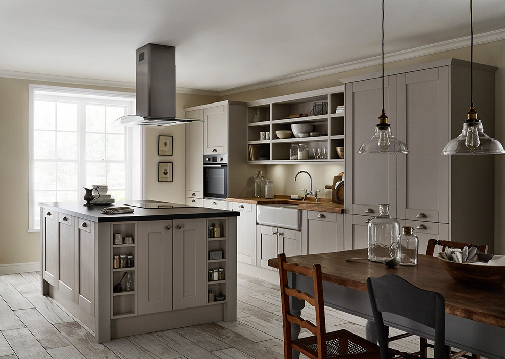 Fairford Cashmere Shaker Style Kitchen Traditional Kitchen Other By Howdens