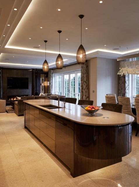 Fairlanes north london contemporary kitchen london for Interior designers north london