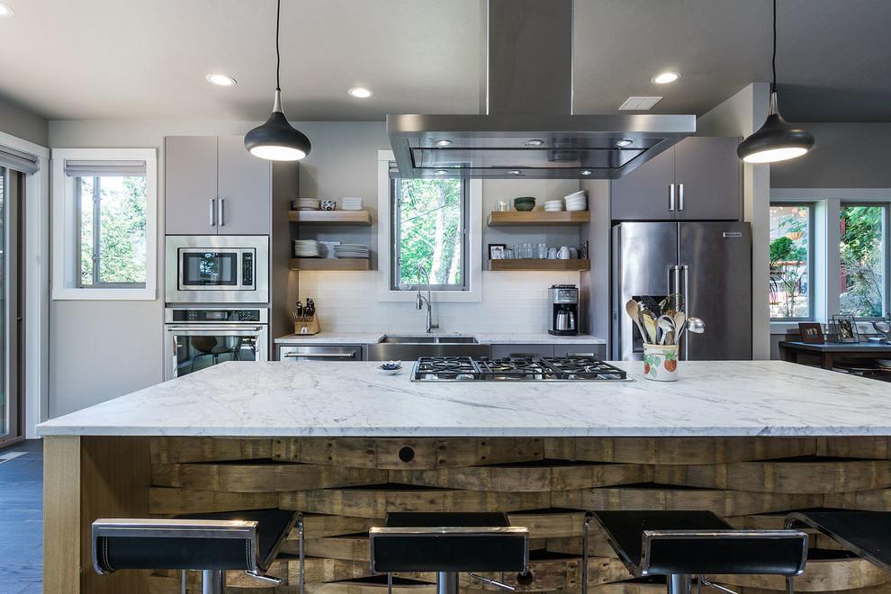 Fairmont Neighborhood Residence - Transitional - Kitchen ...