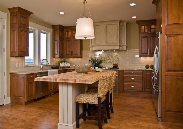 Fairways village at harbor shores resort traditional kitchen grand rapids by gallery Kitchen design for village