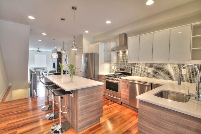 Fait avenue contemporary kitchen baltimore by - Cuisine ikea sofielund ...