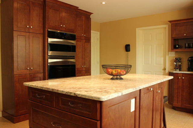 Falcon Brook Addition traditional-kitchen