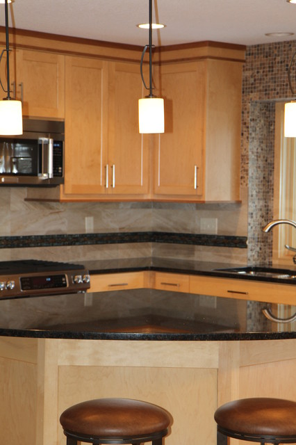 Falcon Heights Remodel contemporary-kitchen