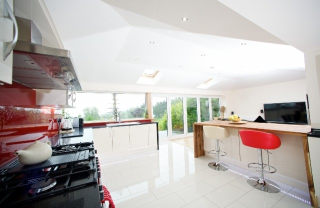 Falkirk Sunroom Modern Kitchen Other By Cr Smith