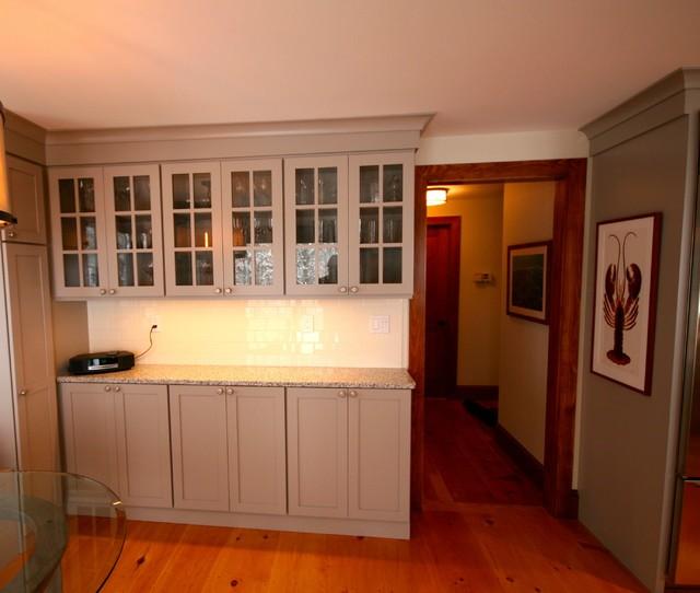 Falmouth Kitchen Remodel - Cape Cod MA farmhouse-kitchen