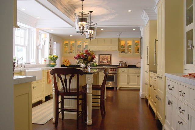 Falmouth kitchen remodel traditional kitchen portland maine by robin amorello ckd caps - Kitchen design portland maine ...