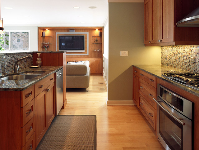 Family dynamic the kitchen contemporary kitchen chicago by