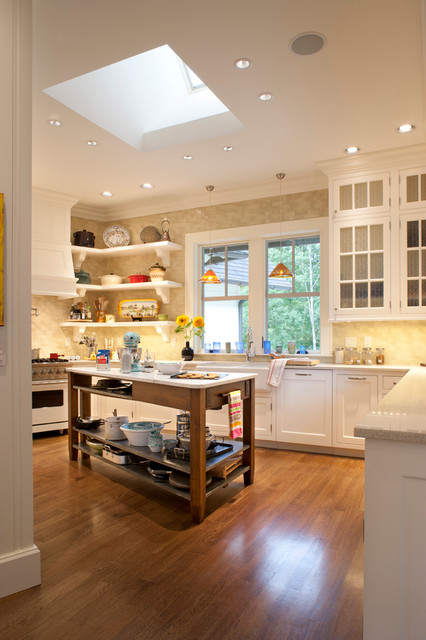 Family Home in The Ramble traditional-kitchen