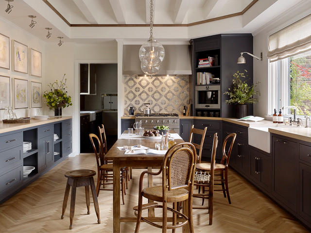 Eat In Kitchen   Transitional U Shaped Eat In Kitchen Idea In San. Email  Save. Jute Interior Design