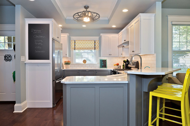Family Kitchen Transitional Kitchen St Louis By NEXT Project Studio