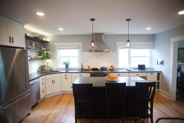 Family Kitchen traditional-kitchen