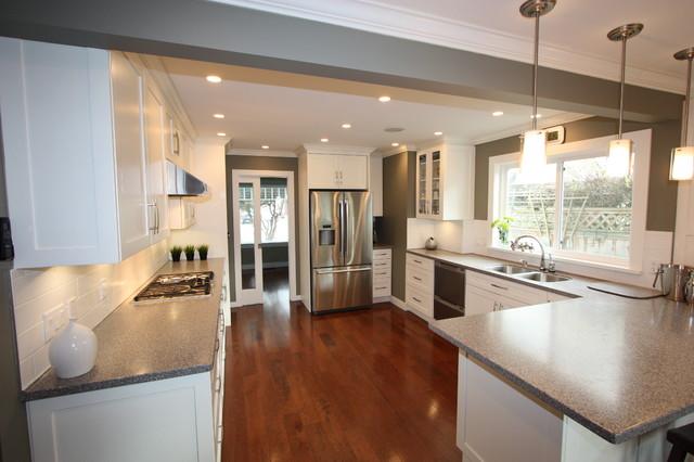 Family Kitchen Update transitional-kitchen