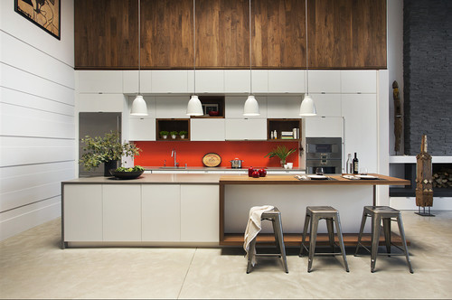 contemporary kitchen interiors