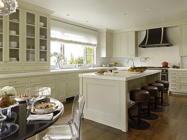 family of 4 transitional-kitchen