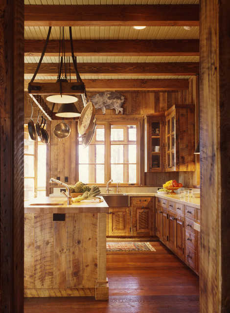 Family Ranch eclectic kitchen