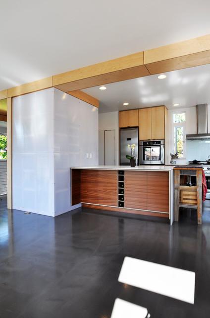 Family Share contemporary-kitchen