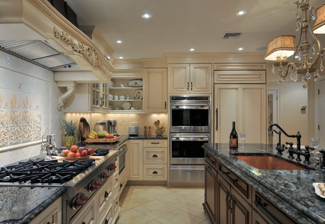 Family Space Reinvented traditional-kitchen