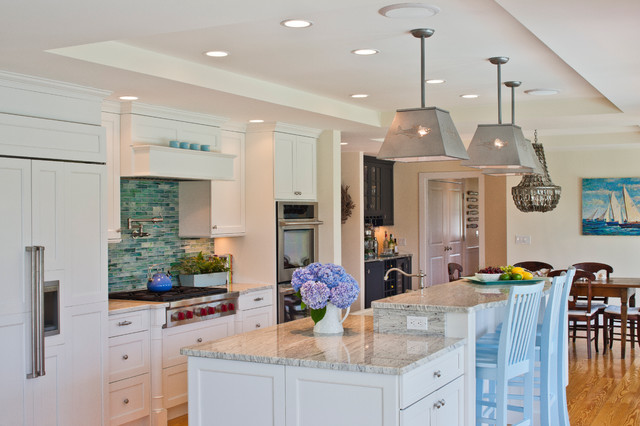 Family Style Beach House traditional-kitchen