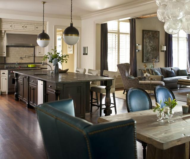 Family Friendly Kitchen Houzz: Transitional