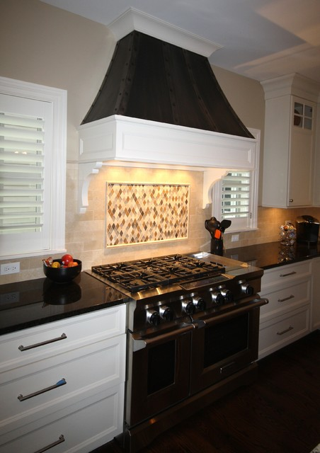 Fantastic First Floor Master custom home traditional-kitchen