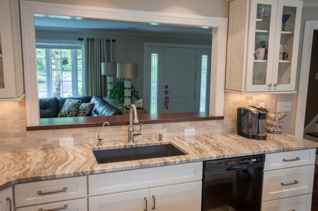 Fantasy Brown Quartzite Countertops - Traditional - Kitchen - new york - by Marble.com