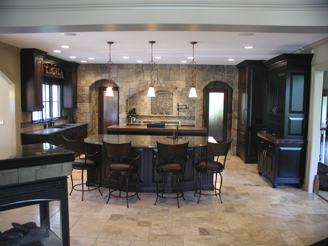Fantasy Kitchen Traditional Kitchen Detroit By