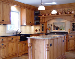 Farm Country Kitchen traditional-kitchen