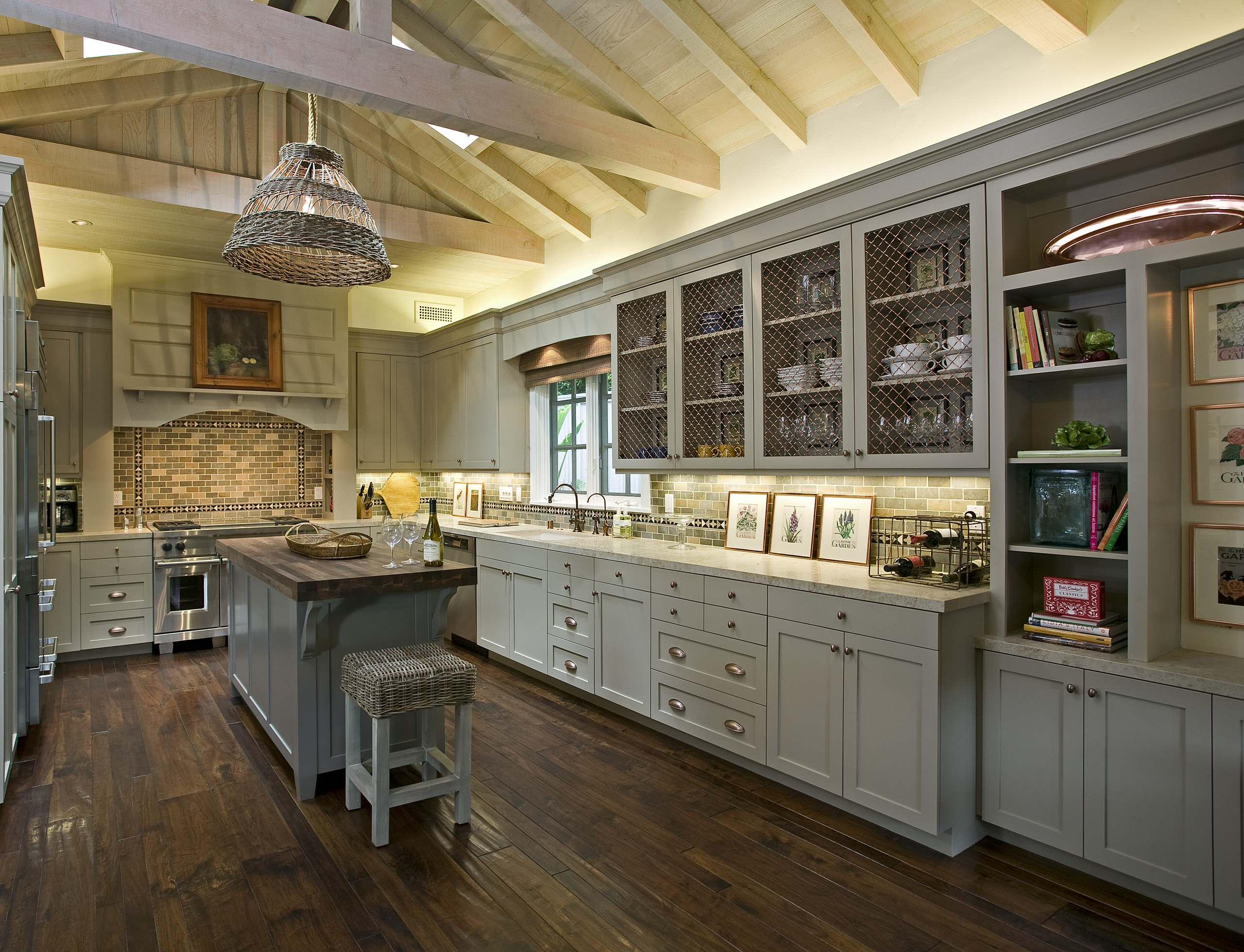 Wire Mesh Kitchen Cabinets Houzz
