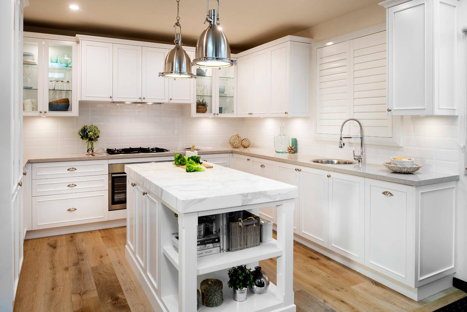 Hampton Style Kitchen Houzz