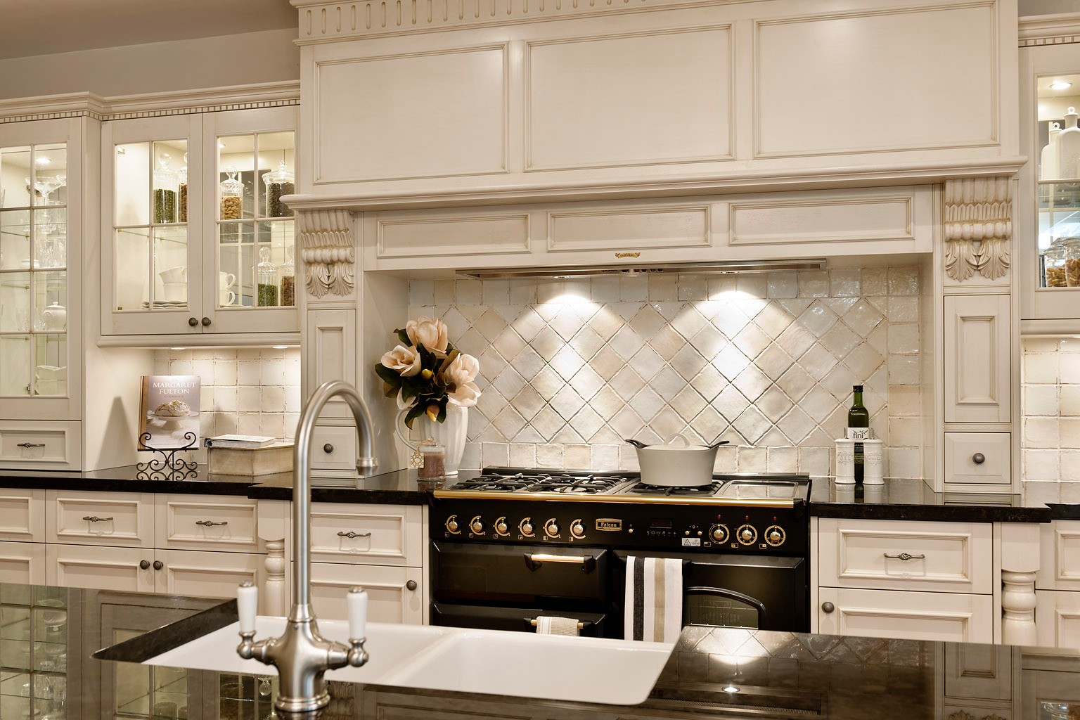 French Country Backsplash Houzz
