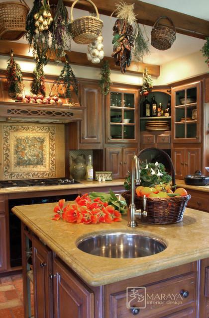 Farmhouse Cottage Kitchen Farmhouse Kitchen Other Metro By Maraya Interior Design