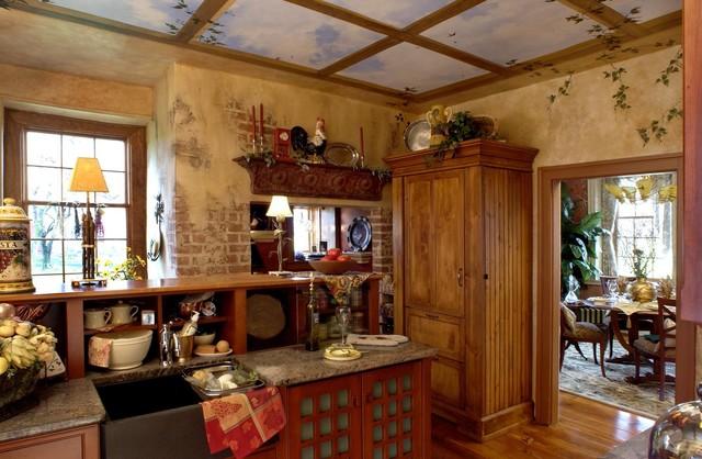 Farmhouse Country Kitchenrustic Kitchen Philadelphia