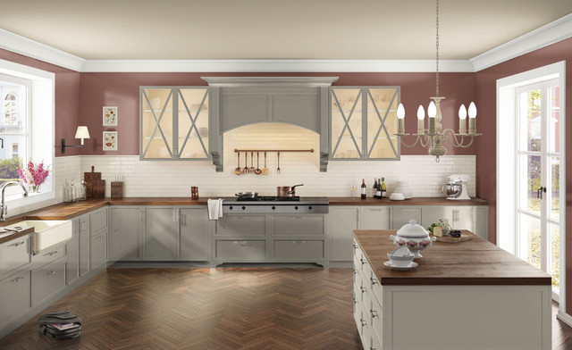 Design By What Matters farmhouse-kitchen