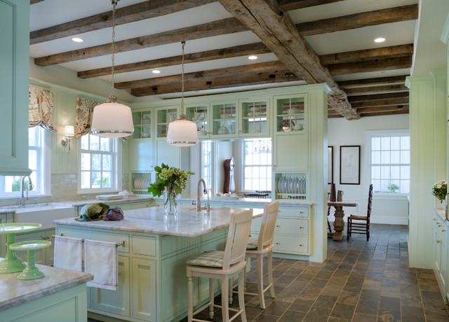 American Farmhouse - farmhouse - kitchen - dc metro - by Donald