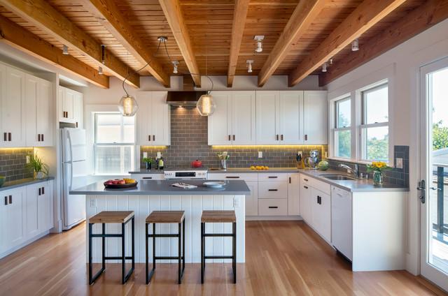 Ramona Avenue 1 - Farmhouse - Kitchen - San Francisco - by Eisenmann Architecture