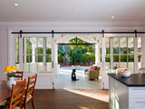 farmhouse entry 10 Ways to Open a Kitchen to the Outdoors (12 photos)