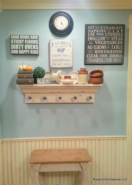 Charmant Farmhouse Kitchen Gallery Wall Farmhouse Kitchen