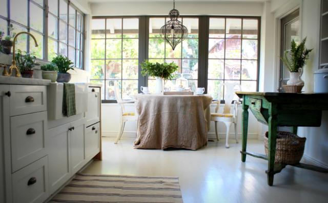 Updated farmhouse kitchen farmhouse kitchen other for Urban farmhouse kitchen