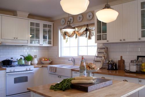 Farmhouse Kitchen By Los Angeles Interior Designers Decorators The