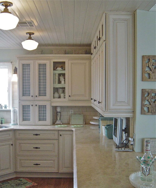 Are these thomasville cabinents if so what style and finish for Thomasville kitchen cabinets