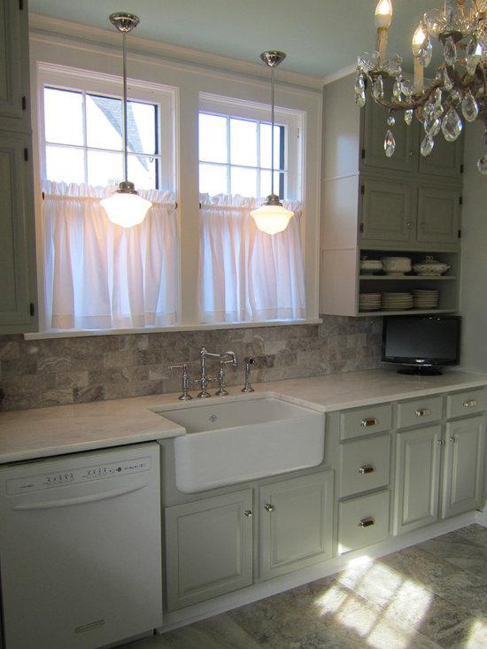 Eider White Kitchen Design Ideas, Remodels & Photos