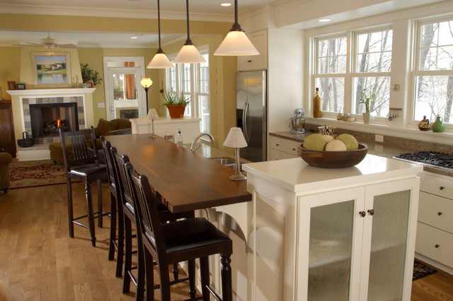 Farmhouse Kitchen Open Floor Plan Farmhouse Kitchen