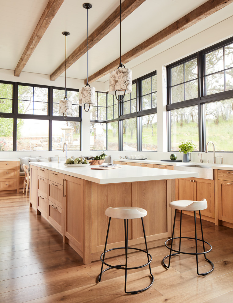 Inspiration for a farmhouse kitchen remodel in San Francisco