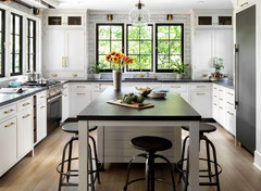 Tour a Kitchen Designer's Dream Kitchen 10 Years in the Making