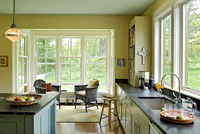 Farmhouse Reinterpreted farmhouse-kitchen